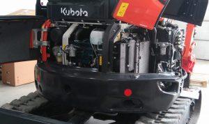 serwis kubota_u55-4_silnik_dostęp_minikoparka